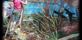 Mural Tells Untold History of Local Tribe