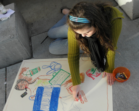 Chalk for Change: Students Inspire Community