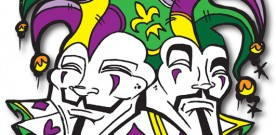 Mardi Gras & Anonymous, Masked Revelry & Social Rebellion