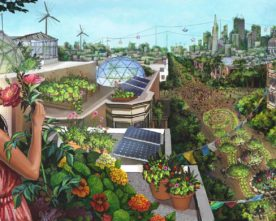 The Future of Cities is Green
